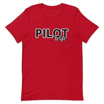 airplaneTees Custom Pilot Wife Tee... Short-Sleeve Unisex 16
