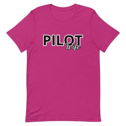 airplaneTees Custom Pilot Wife Tee... Short-Sleeve Unisex 17