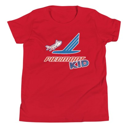 airplaneTees Piedmont Kid Youth Tee... Short Sleeve 14