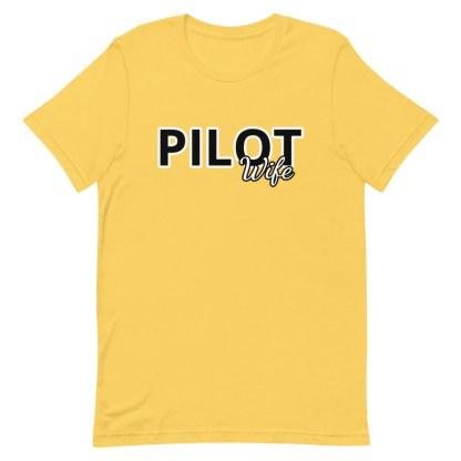 airplaneTees Custom Pilot Wife Tee... Short-Sleeve Unisex 14
