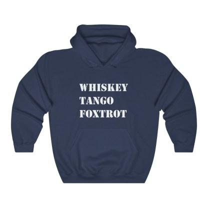 airplaneTees WTF Whiskey Tango Foxtrot Hoodie - Heavy Blend™ Hooded Sweatshirt 10