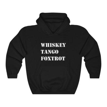 airplaneTees WTF Whiskey Tango Foxtrot Hoodie - Heavy Blend™ Hooded Sweatshirt 2