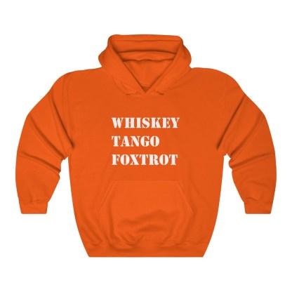 airplaneTees WTF Whiskey Tango Foxtrot Hoodie - Heavy Blend™ Hooded Sweatshirt 4