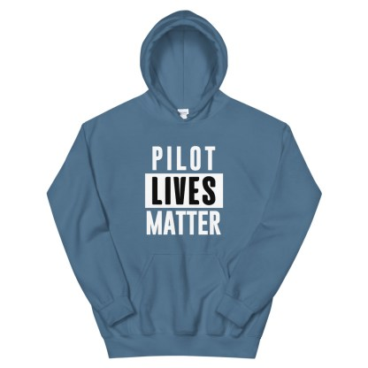 airplaneTees Pilot lives matter Hoodie - Unisex 7