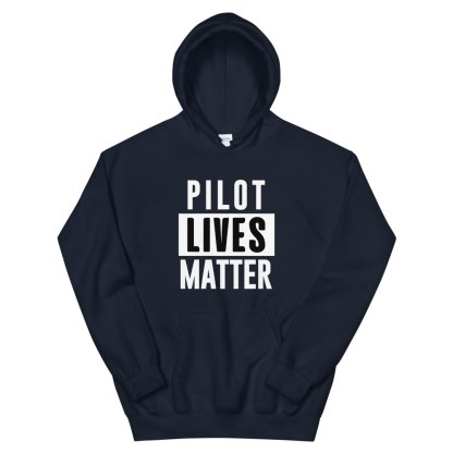 airplaneTees Pilot lives matter Hoodie - Unisex 3