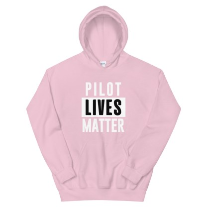 airplaneTees Pilot lives matter Hoodie - Unisex 10