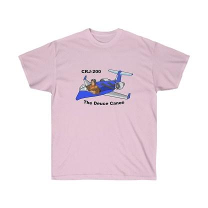 airplaneTees Deuce Canoe Tee - CRJ200 - Unisex Ultra Cotton 11