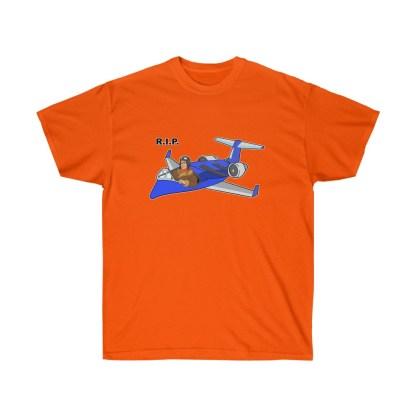 airplaneTees RIP Deuce Canoe Tee CRJ200 - Unisex Ultra Cotton 4
