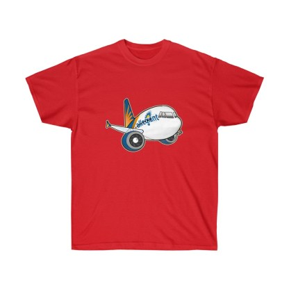 airplaneTees Allegiant Air Airbus Tee - Unisex Ultra Cotton - A321 9