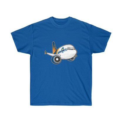 airplaneTees Allegiant Air Airbus Tee - Unisex Ultra Cotton - A321 7