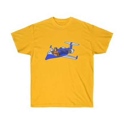 airplaneTees Deuce Canoe Tee CRJ200 - Unisex Ultra Cotton 5