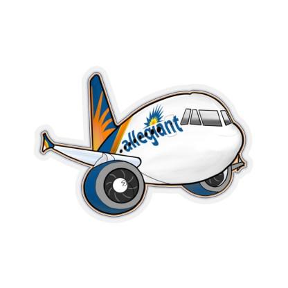 airplaneTees Allegiant Air Airbus Stickers - Kiss-Cut A321 1