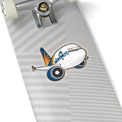 airplaneTees Allegiant Air Airbus Stickers - Kiss-Cut A321 2