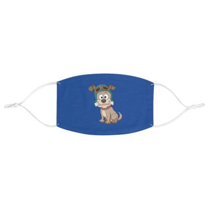 airplaneTees Doggie Aviator Face Mask - Fabric 2