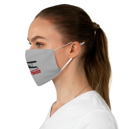 airplaneTees Stearman Face Mask - Logo, Fabric 4