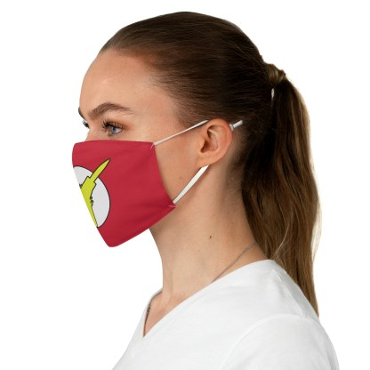 airplaneTees Super Fighter Pilot Face Mask - Fabric 4