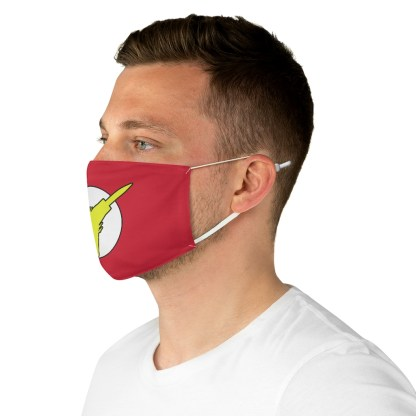 airplaneTees Super Fighter Pilot Face Mask - Fabric 5