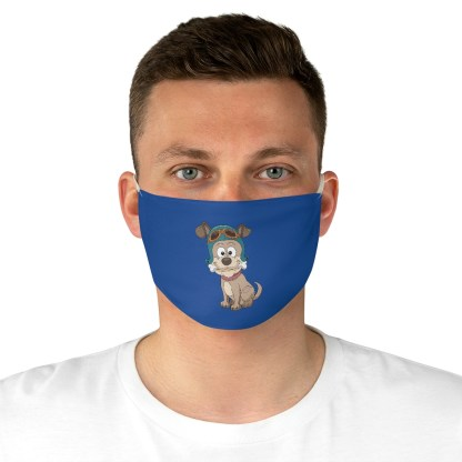 airplaneTees Doggie Aviator Face Mask - Fabric 4