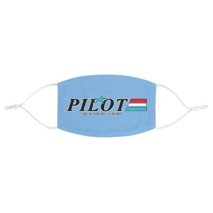 airplaneTees GI JOE Pilot Face Mask - Fabric 2