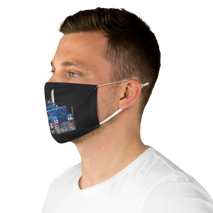airplaneTees Truckmasters Face Mask - Fabric 5
