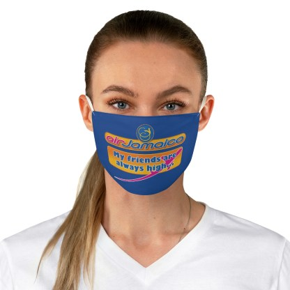 airplaneTees Air Jamaica Face Mask - Fabric, Spoof 3