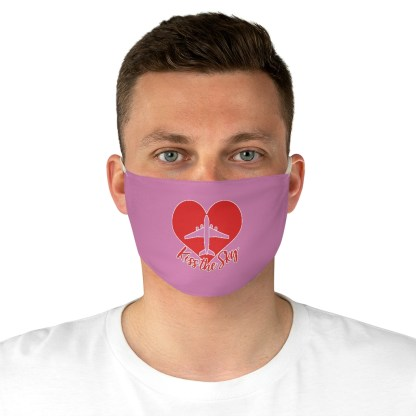 airplaneTees Kiss the Sky Face Mask - Fabric 4