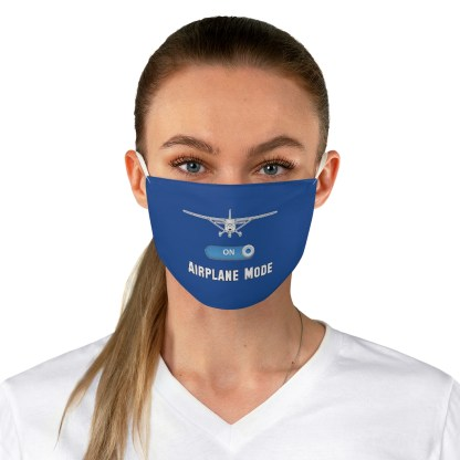 airplaneTees Airplane Mode Face Mask - Fabric 1