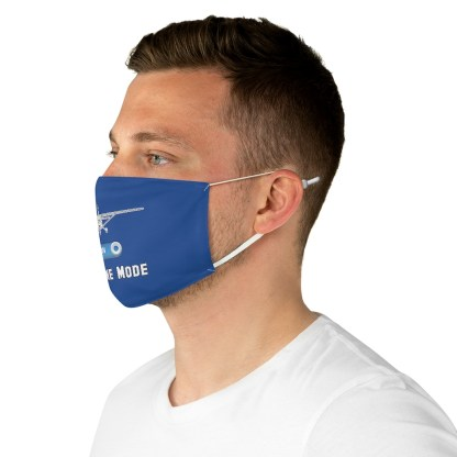 airplaneTees Airplane Mode Face Mask - Fabric 5