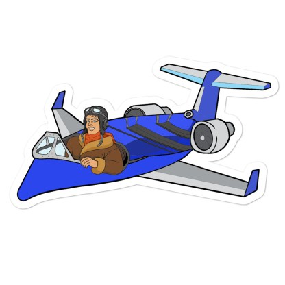 airplaneTees Deuce Canoe stickers 1