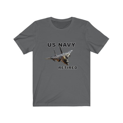 airplaneTees USN F14 Retired Tee - Unisex Jersey Short Sleeve Tee 12
