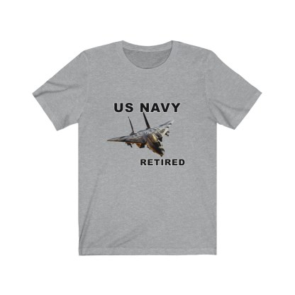 airplaneTees USN F14 Retired Tee - Unisex Jersey Short Sleeve Tee 10