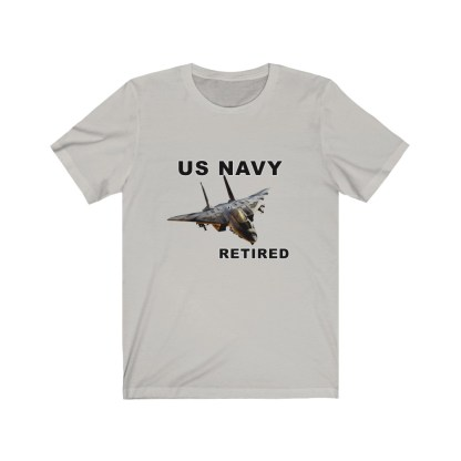 airplaneTees USN F14 Retired Tee - Unisex Jersey Short Sleeve Tee 7