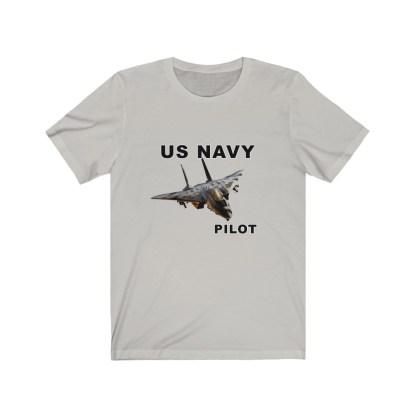 airplaneTees USN F14 Pilot Tee - Unisex Jersey Short Sleeve Tee 7