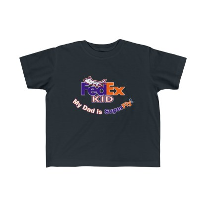 airplaneTees Fedex Dad is Superfly tee - Kid's Fine Jersey 4