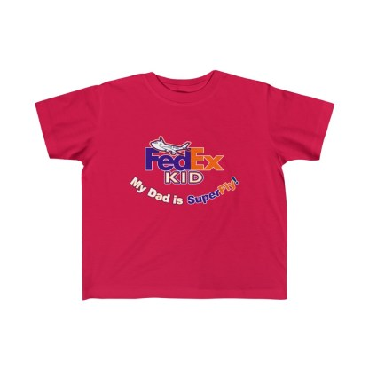 airplaneTees Fedex Dad is Superfly tee - Kid's Fine Jersey 1