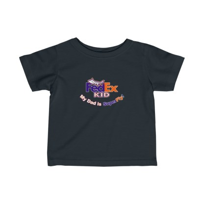 airplaneTees FedEx Dad is Superfly Tee - Infant Fine Jersey 4