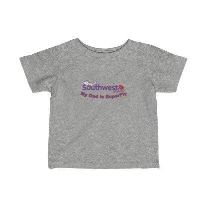 airplaneTees Southwest Dad is Superfly Tee - Infant Fine Jersey 1
