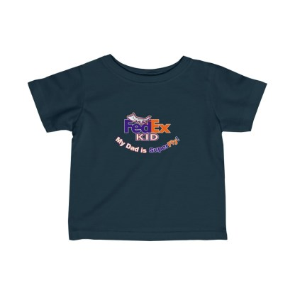 airplaneTees FedEx Dad is Superfly Tee - Infant Fine Jersey 5