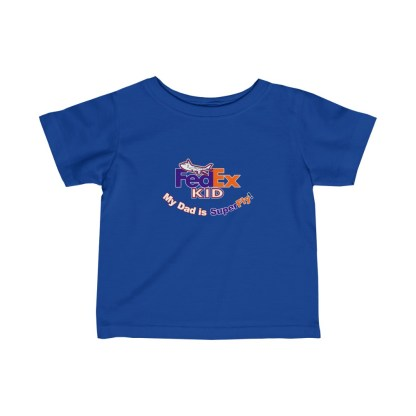 airplaneTees FedEx Dad is Superfly Tee - Infant Fine Jersey 3