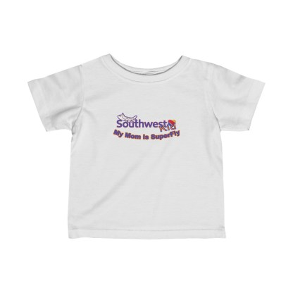 airplaneTees Southwest Mom is Superfly tee - Infant Fine Jersey 2