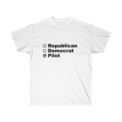 airplaneTees Political Pilot Tee - Unisex Ultra Cotton tshirt 2