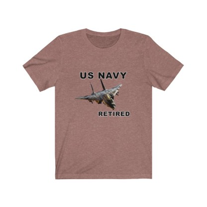 airplaneTees USN F14 Retired Tee - Unisex Jersey Short Sleeve Tee 4