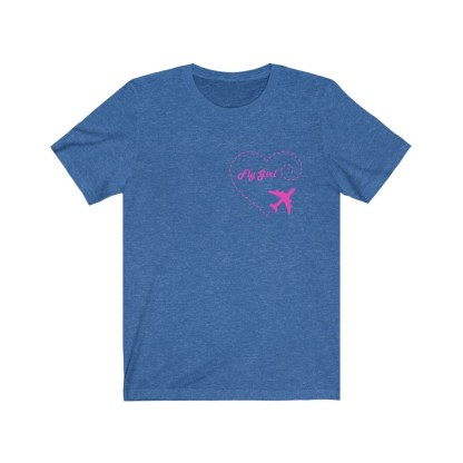 airplaneTees Fly Girl Tee - Unisex Jersey Short Sleeve 7