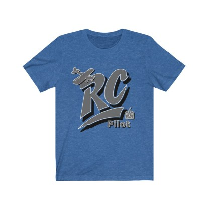 airplaneTees RC Pilot Tee - Unisex Jersey Short Sleeve Tee 1