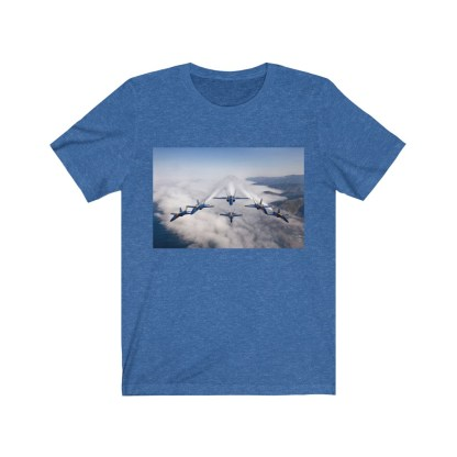 airplaneTees Blue Angels Tee - Unisex Jersey Short Sleeve 1