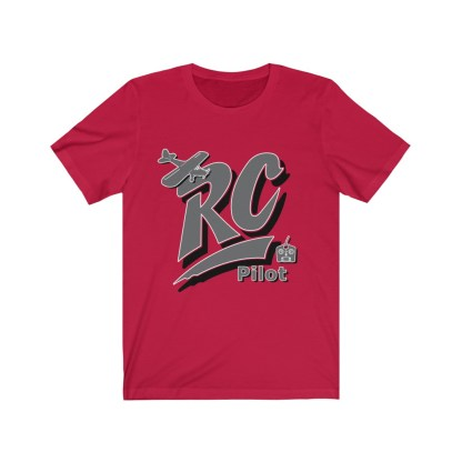 airplaneTees RC Pilot Tee - Unisex Jersey Short Sleeve Tee 8
