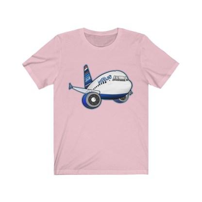 airplaneTees jetBlue Airbus Tee - Unisex Jersey Short Sleeve Tee 15