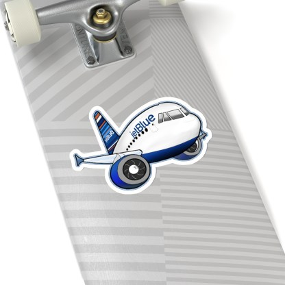 airplaneTees jetBlue Airbus Stickers - Kiss-Cut 2