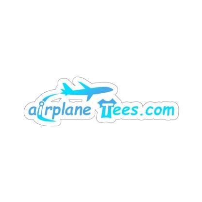 airplaneTees airplaneTees.com logo sticker 7