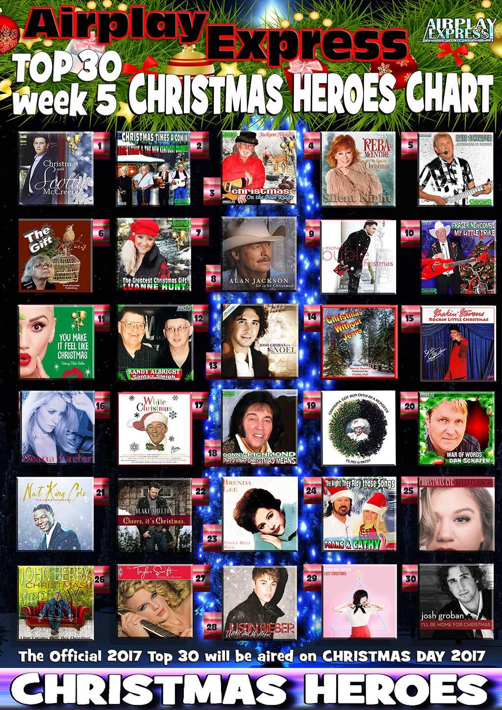 Top 30 Christmas 2017 | Airpla...